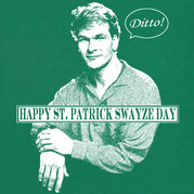 st patrick swayze day shirt