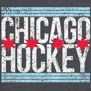 Chicago Hockey Flag Shirt