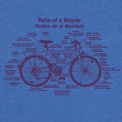 Parts of a Bicycle Shirt