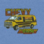 Chevy Van Glitter Shirt