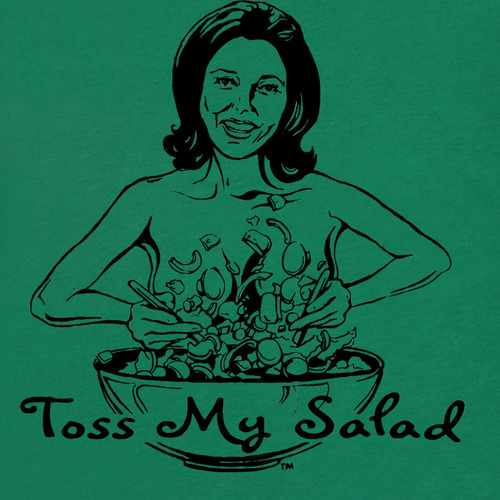 Tossed your salad sex