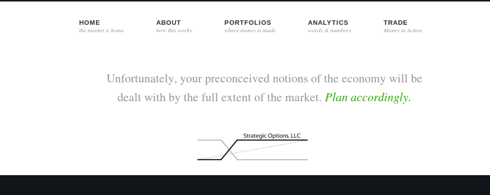 strategic options website