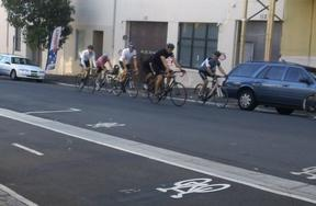 Sydney City Council's separated cycleways not faster & safer to get home