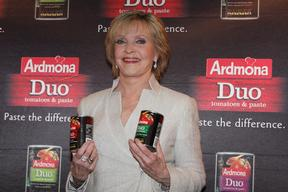 Florence Henderson Brady Bunch star at Darlinghurst, Sydney, Australia