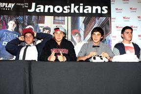 Janoskians appearance at Liverpool, Westfield