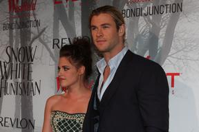 Kristen Stewart and Chris Hemsworth attend 'Snow White and the Huntsman' movie premiere - Bondi Junc