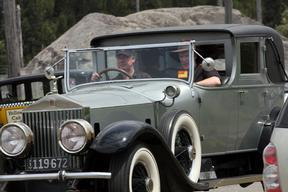 The Great Gatsby Movie Set: Classic Cars Gallore Alas No Leonardo DiCaprio