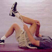 Bent Knee Hamstring Stretch: Active