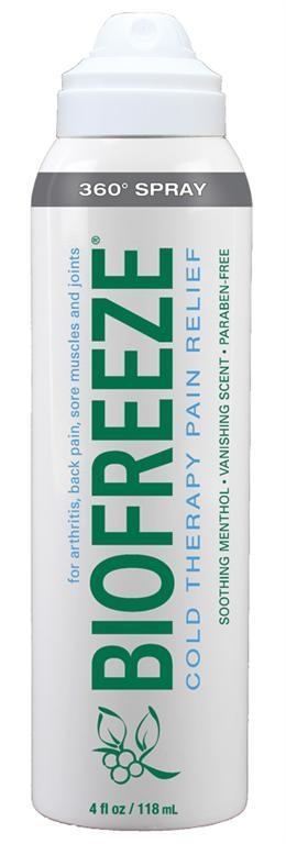 4 oz. Biofreeze Spray 360* Spray