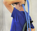 Photo of Blue Stretching Rope (8' Soft)
