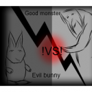The story of the bunny and the monster
