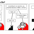 NWO Kitty vs. Santa Claus