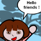 Dora explores...