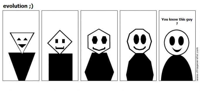 evolution ;)