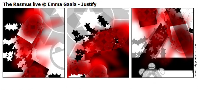 The Rasmus live @ Emma Gaala - Justify