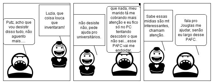 Diálogo entre cursistas do PAFC.