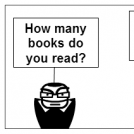 I love read
