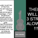 Guitar contest