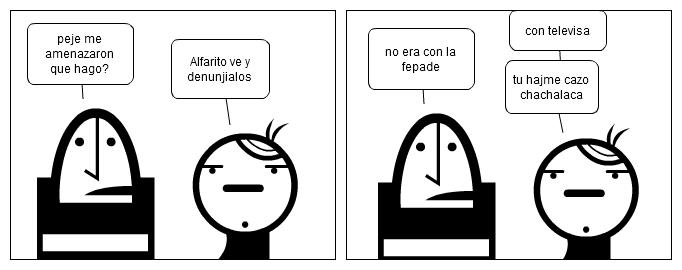 Peje, Alfarito y Televisa