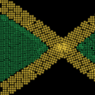 Messed up Jamaican Flag 'n Pea