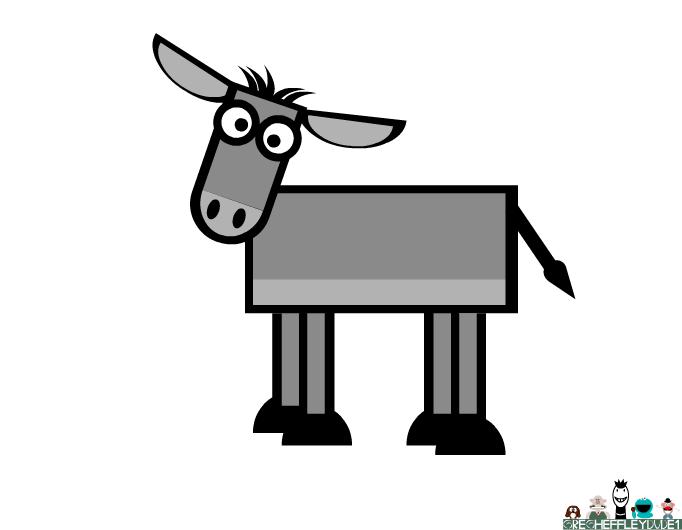 35sheep's donkey tutorial