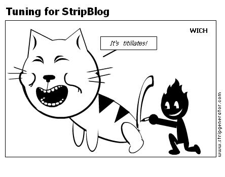 Tuning for StripBlog