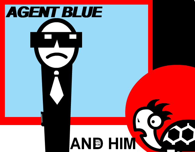 Agent Blue And Him cover