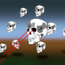 Skull invasion