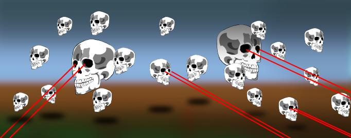 Skull invasion