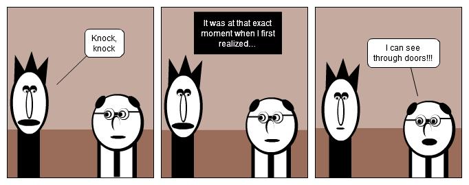 Transparent Jokes