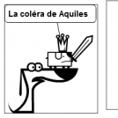 Lacolera de aquiles