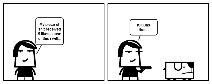 Das Hund's last words