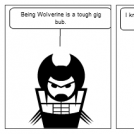 A tip on how to be Wolverine