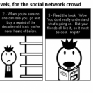 Guide to graphic novels, for the social network cr