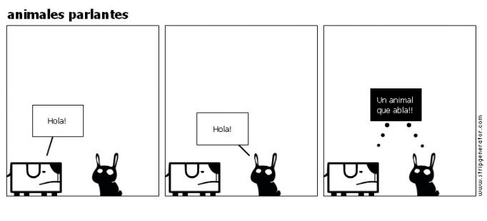 animales parlantes