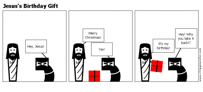 Jesus's Birthday Gift