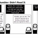 The Tech Support Mumbler: Didn't Read It