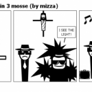 The Blues Brothers in 3 mosse (by mizza)