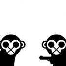 -The Two Monkeys- Gun or Fake?