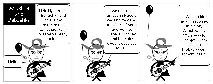 Anushka and Babushka