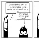 Global warming is boring