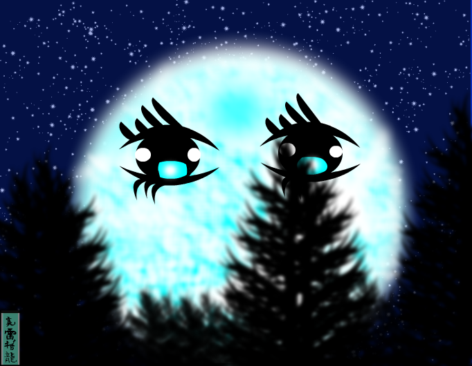 The Eyes of the Moon