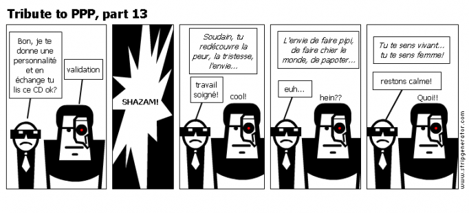 Tribute to PPP, part 13