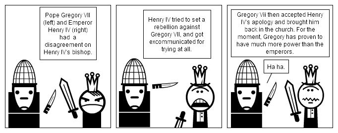Pope King King vs Pope