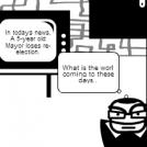 5 Year old Mayor