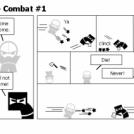 Elevator Comic #5 - Combat #1