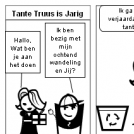 Tante Truus is Jarig