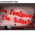 The psychopath's sign