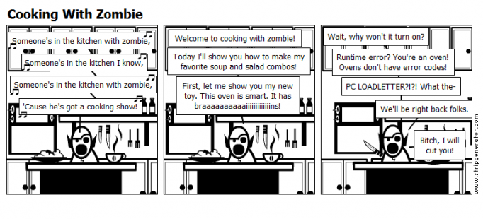 Cooking With Zombie