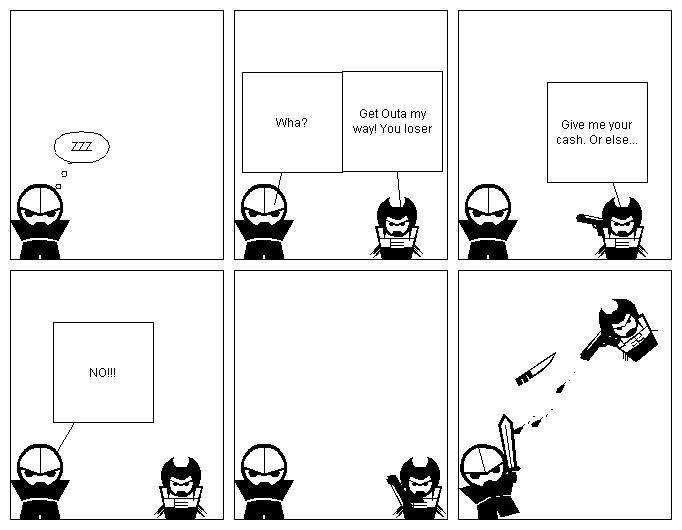 NInja vs Monster